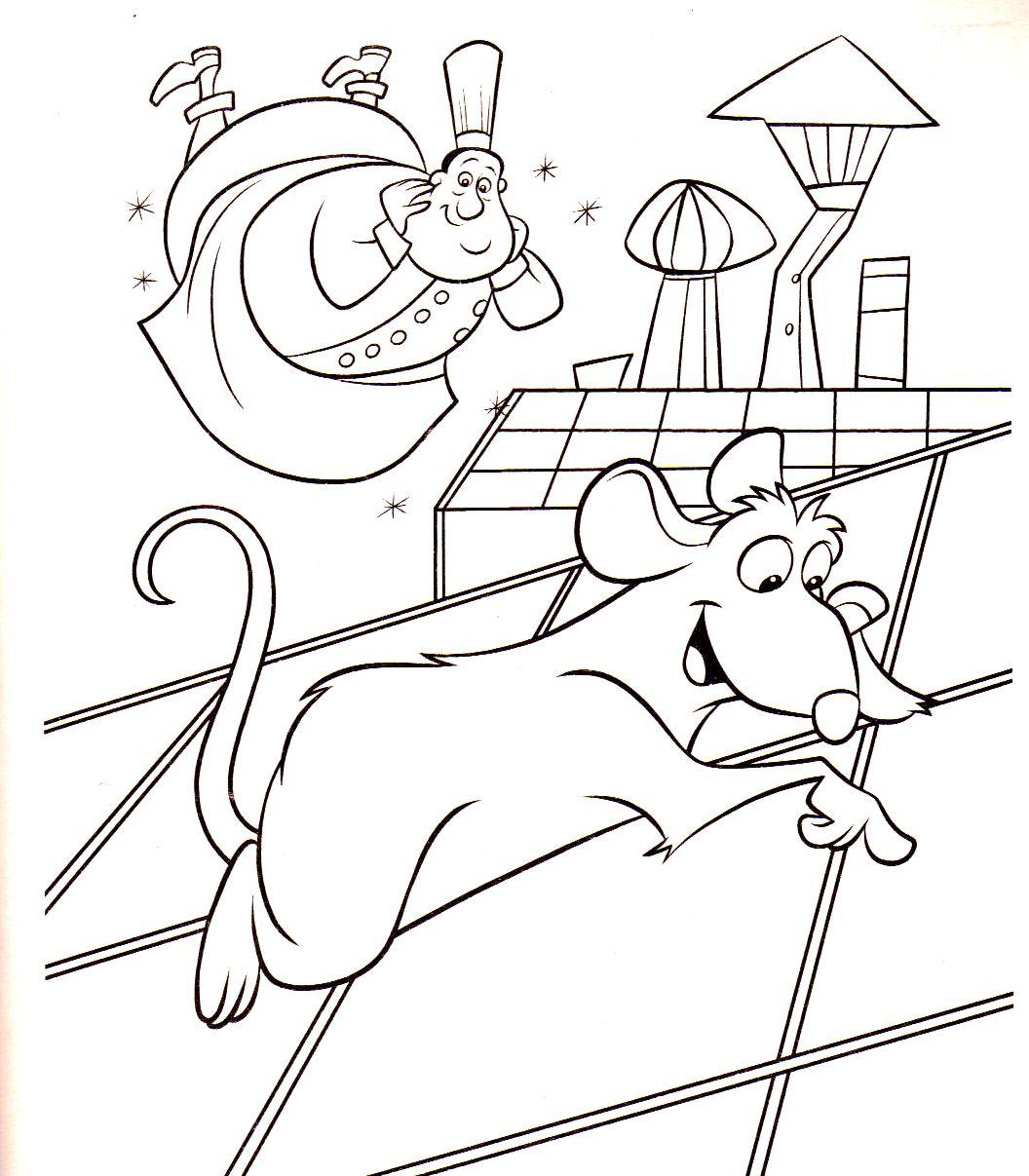 117 dessins de coloriage ratatouille imprimer - Coloriage de ratatouille ...