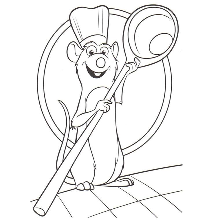 117 dessins de coloriage ratatouille imprimer - Coloriage pixar ...