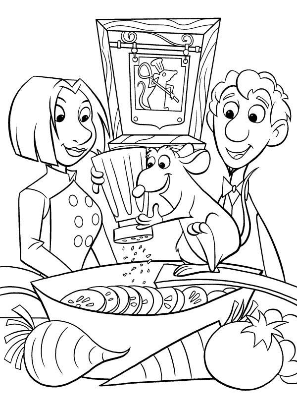 dessin magique de ratatouille