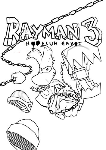 dessin � colorier a imprimer rayman origins