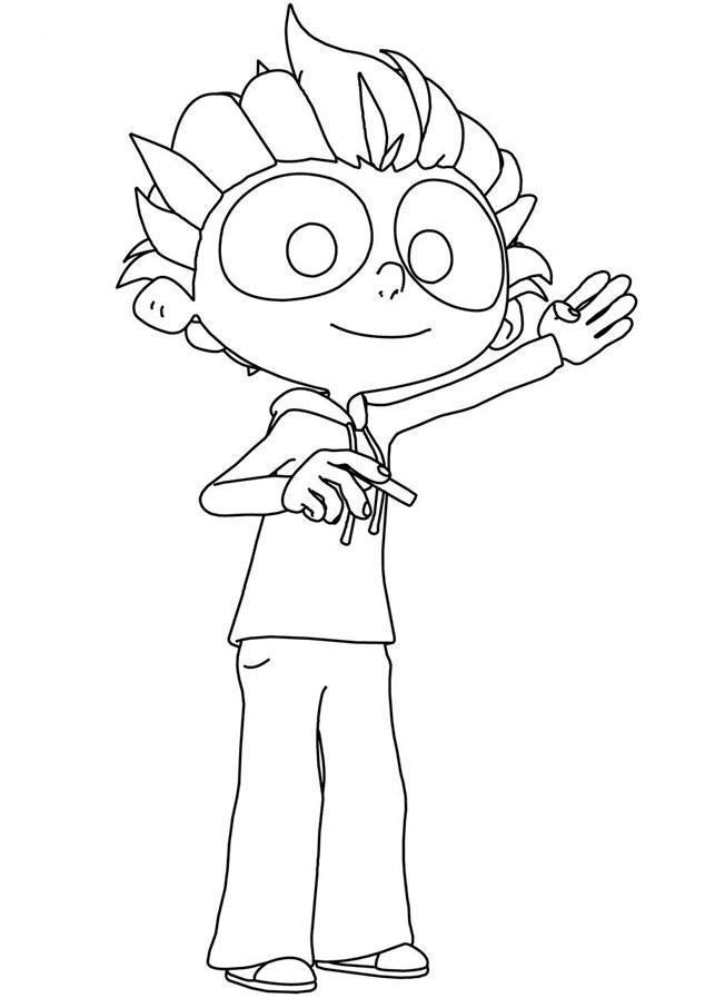 dessin rayman 3