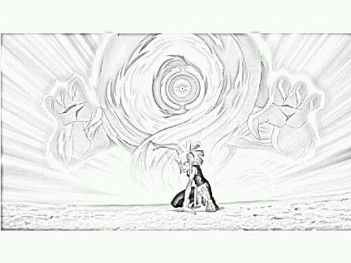 dessin à colorier redakai en ligne