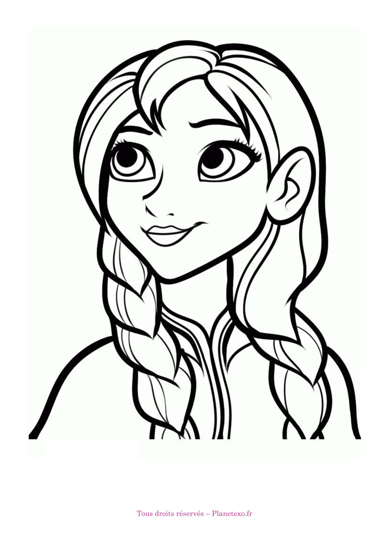 19 dessins de coloriage reine des neiges anna imprimer - Coloriage de reine des neiges ...