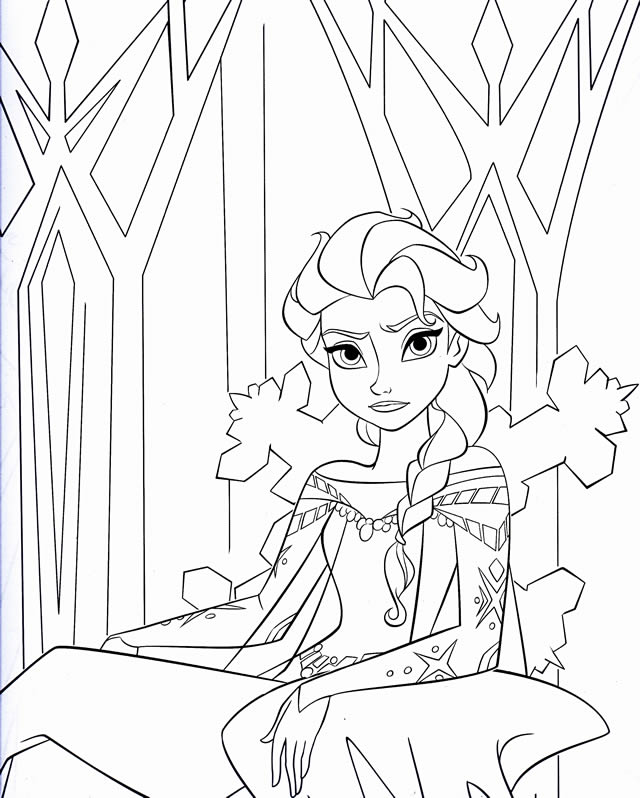 20 dessins de coloriage reine des neiges en ligne gratuit imprimer - Regarder la reine des neiges gratuit ...