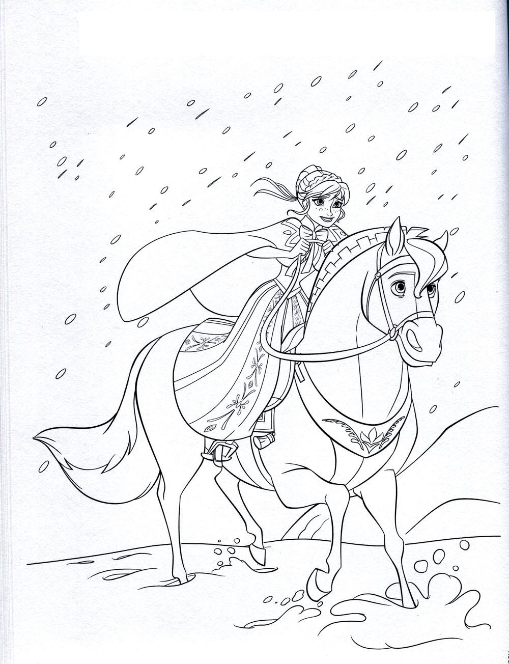 Reine Des Neiges Jeux  colorier Voir le dessin Voir le dessin