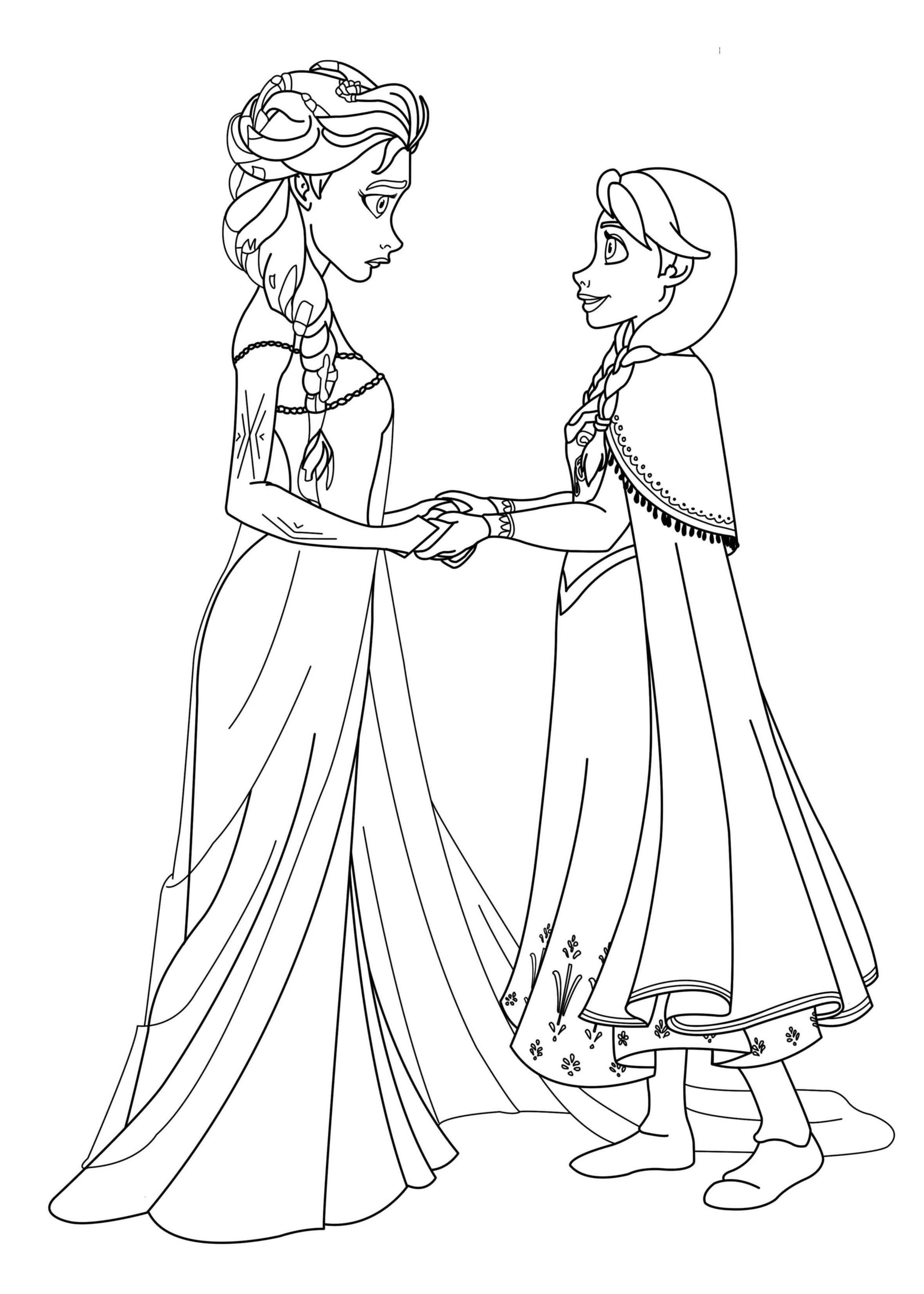 coloriage à dessiner reine des neiges chateau