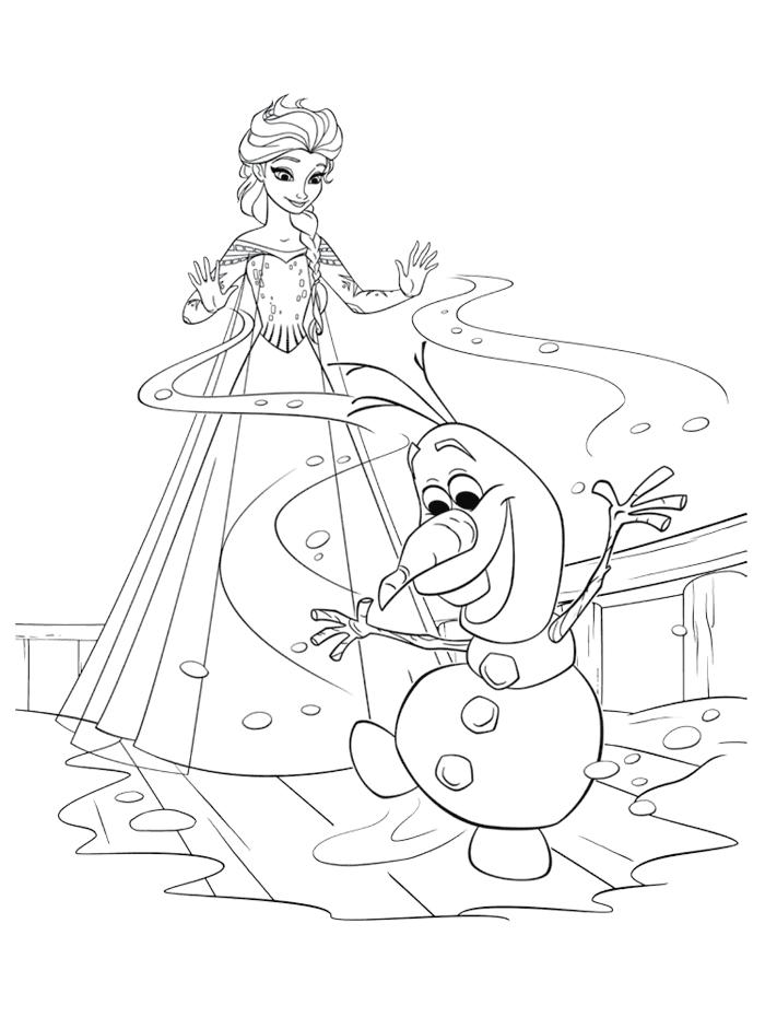 tout les dessin de la reine des neiges