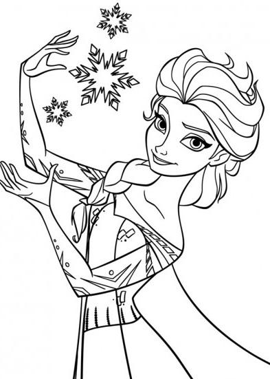 cahier dessin reine des neiges