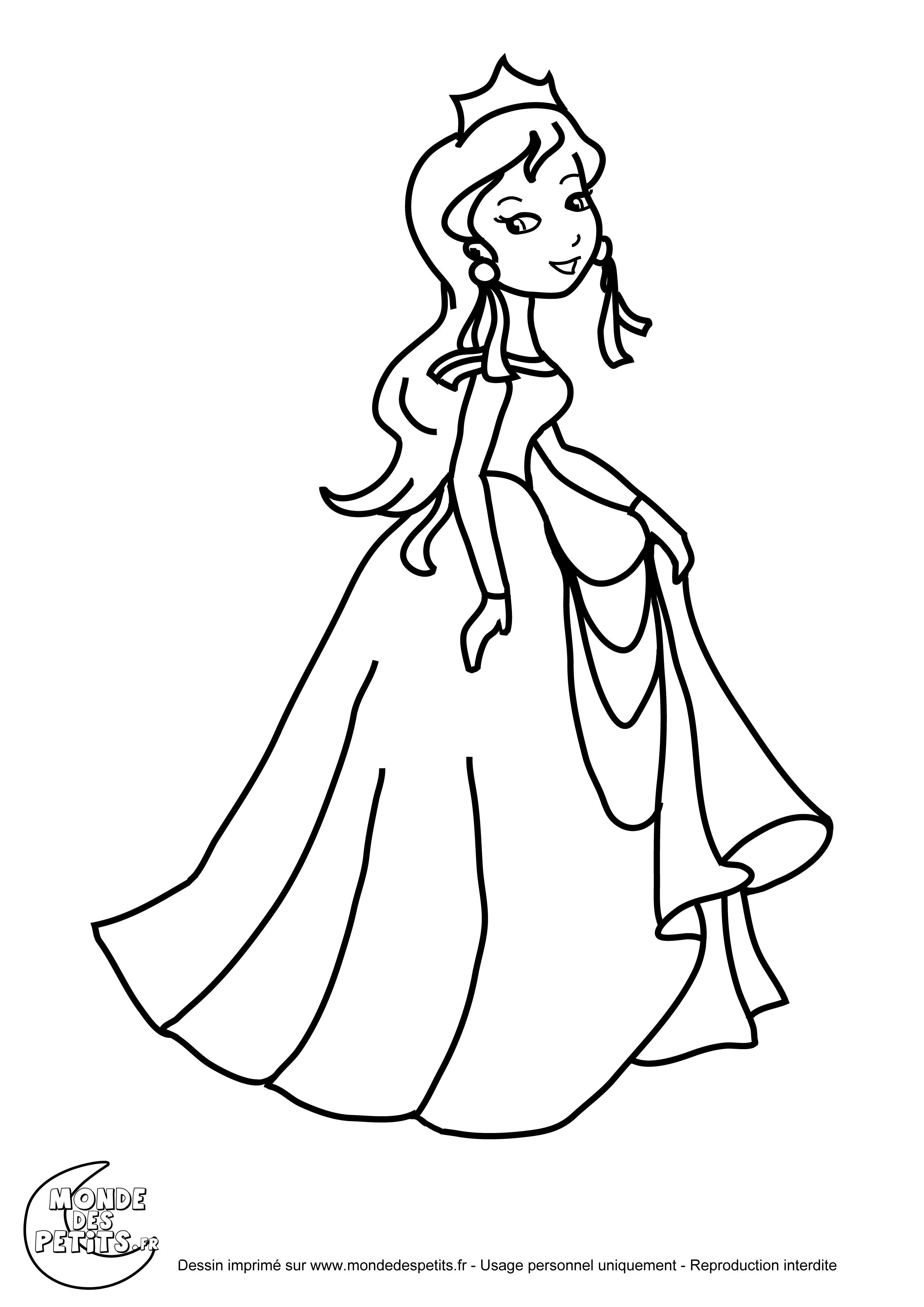 coloriage à dessiner gratuit reine des neiges à imprimer