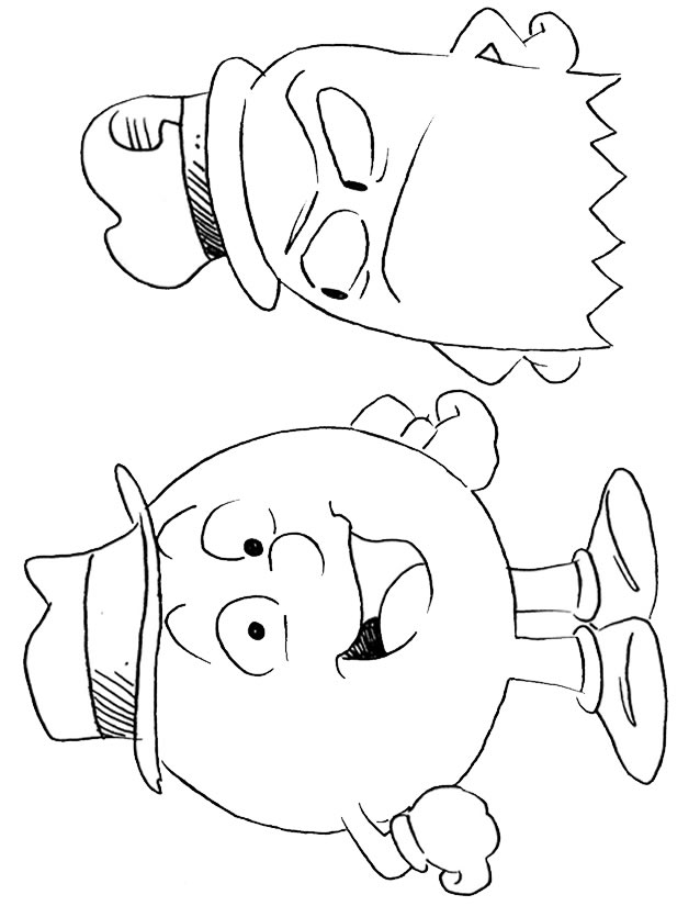 coloriage � dessiner de rekkit