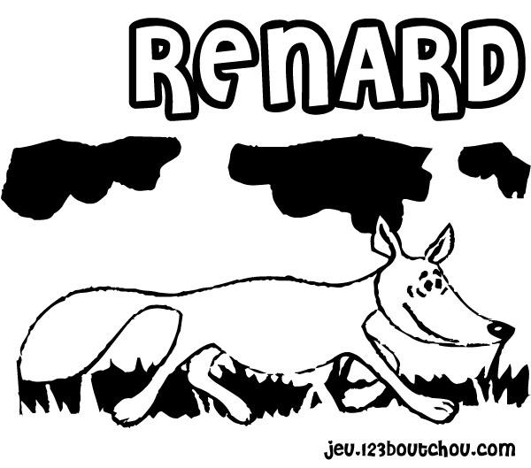 Dessin renard roule galette - Coloriage renard ...