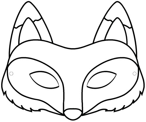 coloriage tv renard