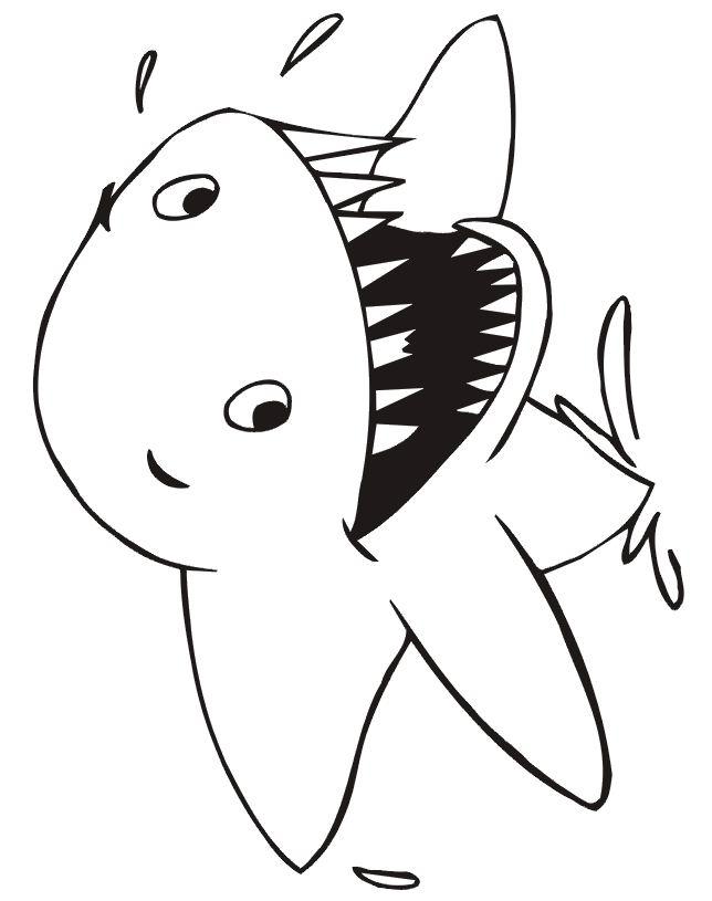 dessin à colorier requin baleine