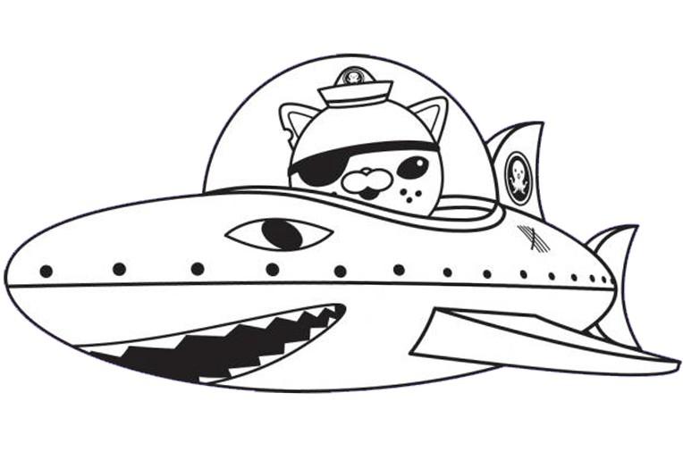 Dessin colorier de requin tigre - Photo de requin tigre a imprimer ...