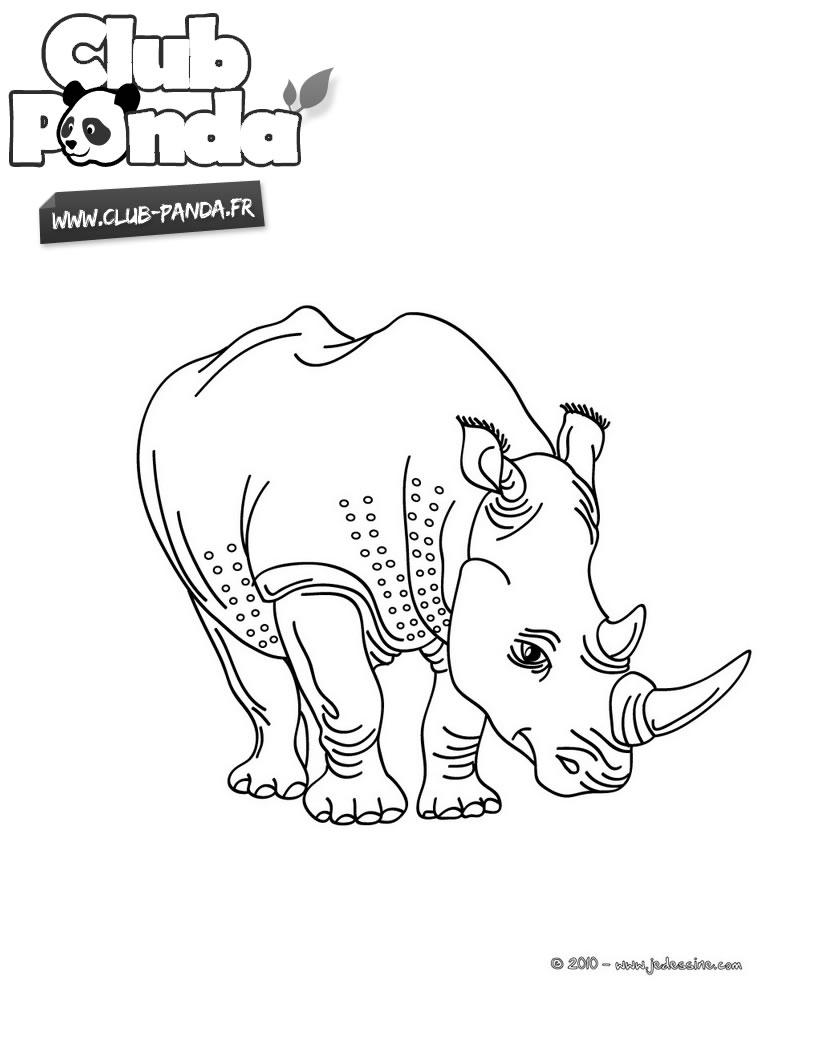 Coloriage En Ligne Rhinoceros.Dessin Rhinoca C Ros En Ligne