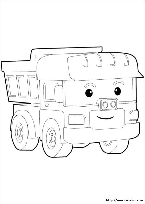 9 dessins de coloriage robocar poli a colorier imprimer - Dessin robocar poli ...