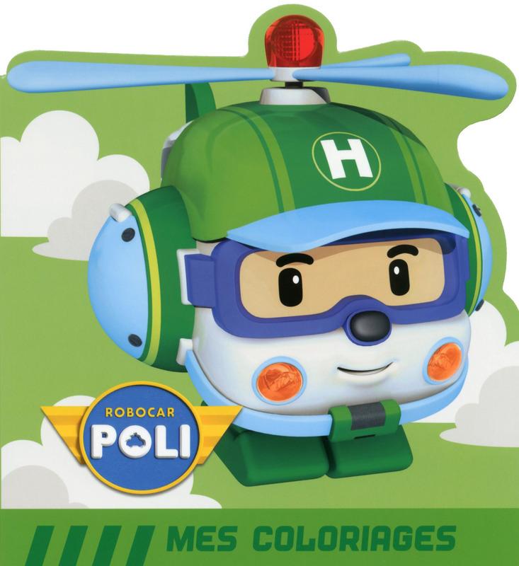 5 dessins de coloriage robocar poli heli imprimer - Le club robocar poli ...