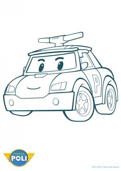56 dessins de coloriage robocar poli imprimer. Black Bedroom Furniture Sets. Home Design Ideas