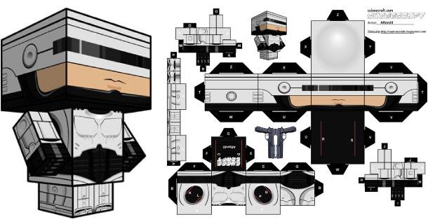 dessin robocop