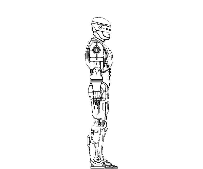 dessin à colorier robocar a imprimer