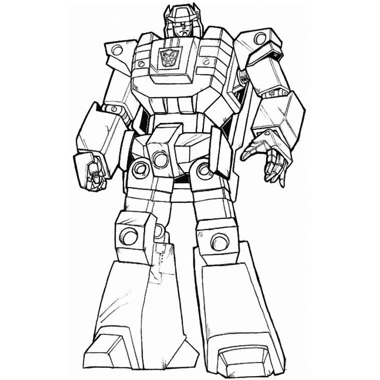 10 dessins de coloriage robot real steel  u00e0 imprimer