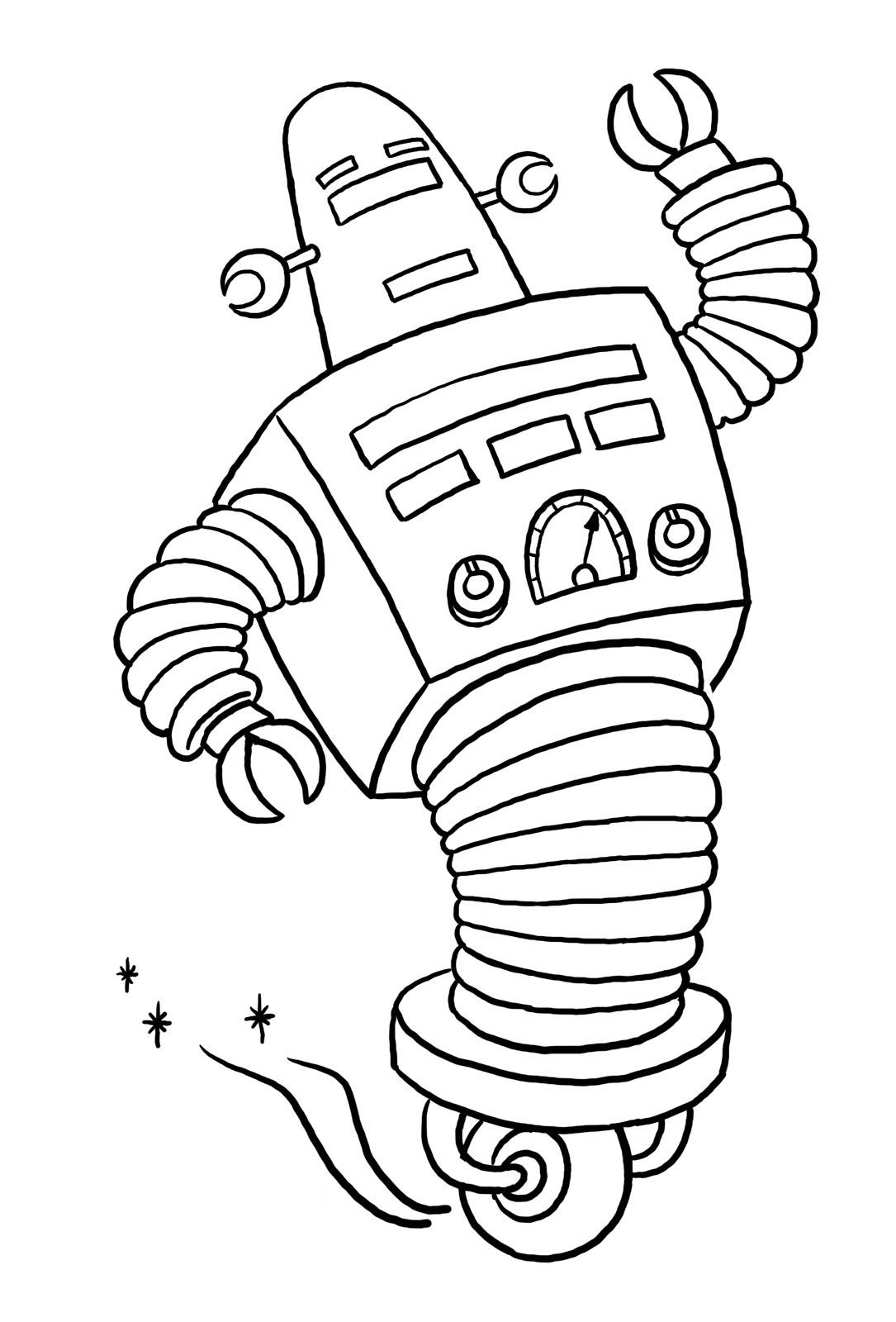 dessin robot transformers