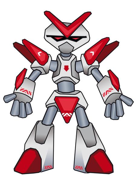 dessin à colorier robot de combat