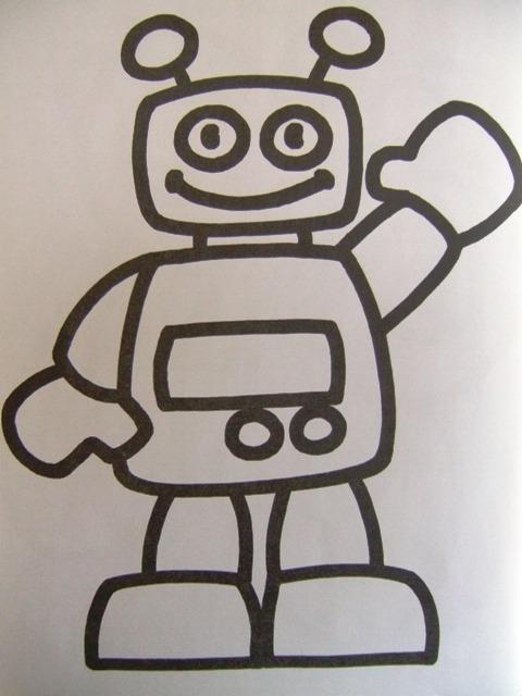coloriage � dessiner robot star wars