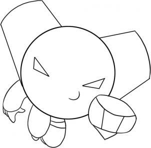 jeux dessin à colorier robotboy