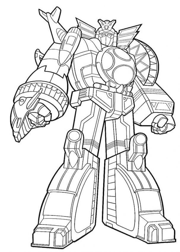 coloriage à dessiner gratuit robotboy