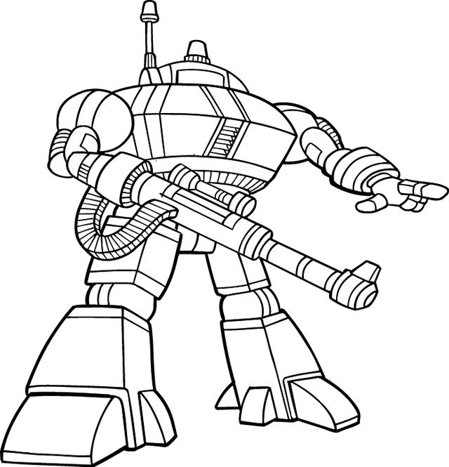 coloriage à imprimer robotboy