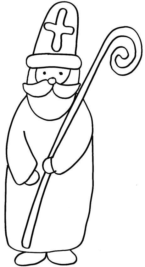 vrac dessin saint nicolas