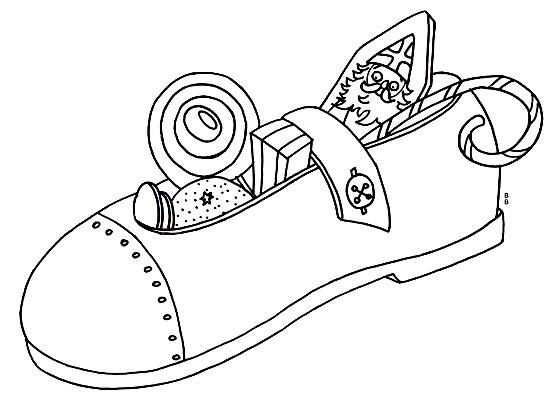 dessin saint nicolas imprimer gratuit