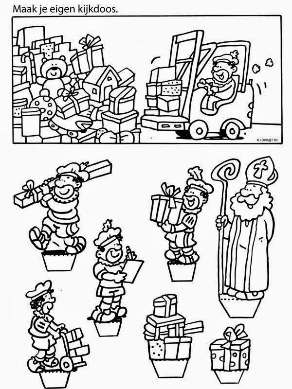 dessin tete saint nicolas