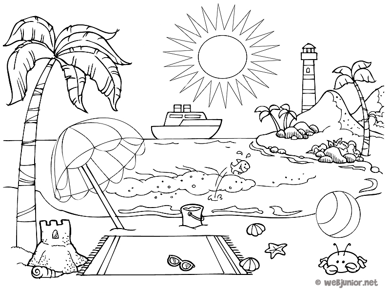 20 dessins de coloriage saisons a imprimer imprimer - Coloriage saisons a imprimer ...