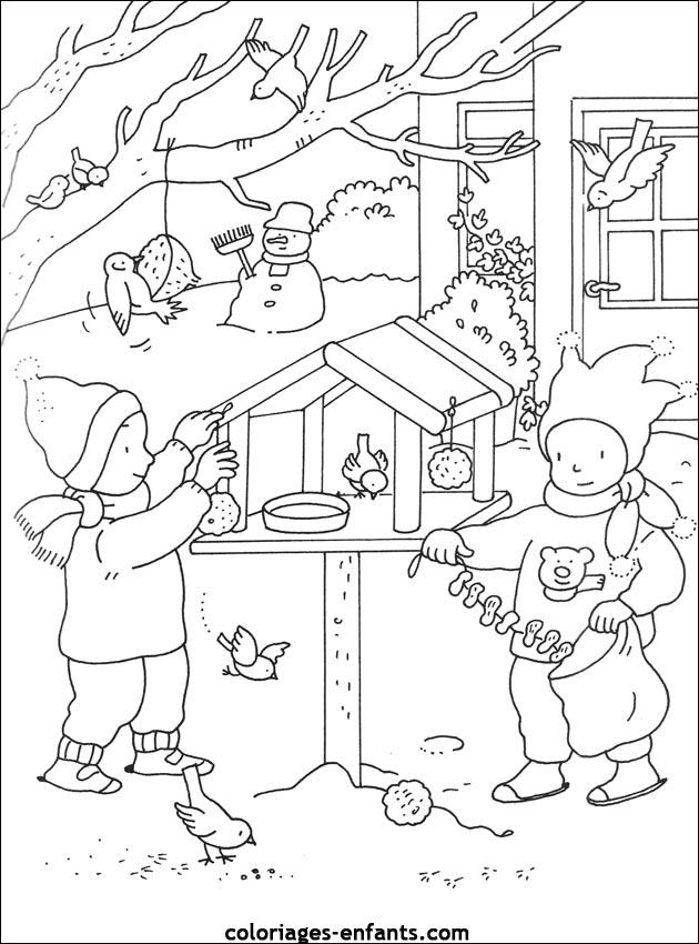 19 dessins de coloriage saisons maternelle imprimer - Coloriage saisons a imprimer ...