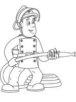 Dessin colorier sam le pompier julie - Coloriage de sam le pompier a imprimer ...