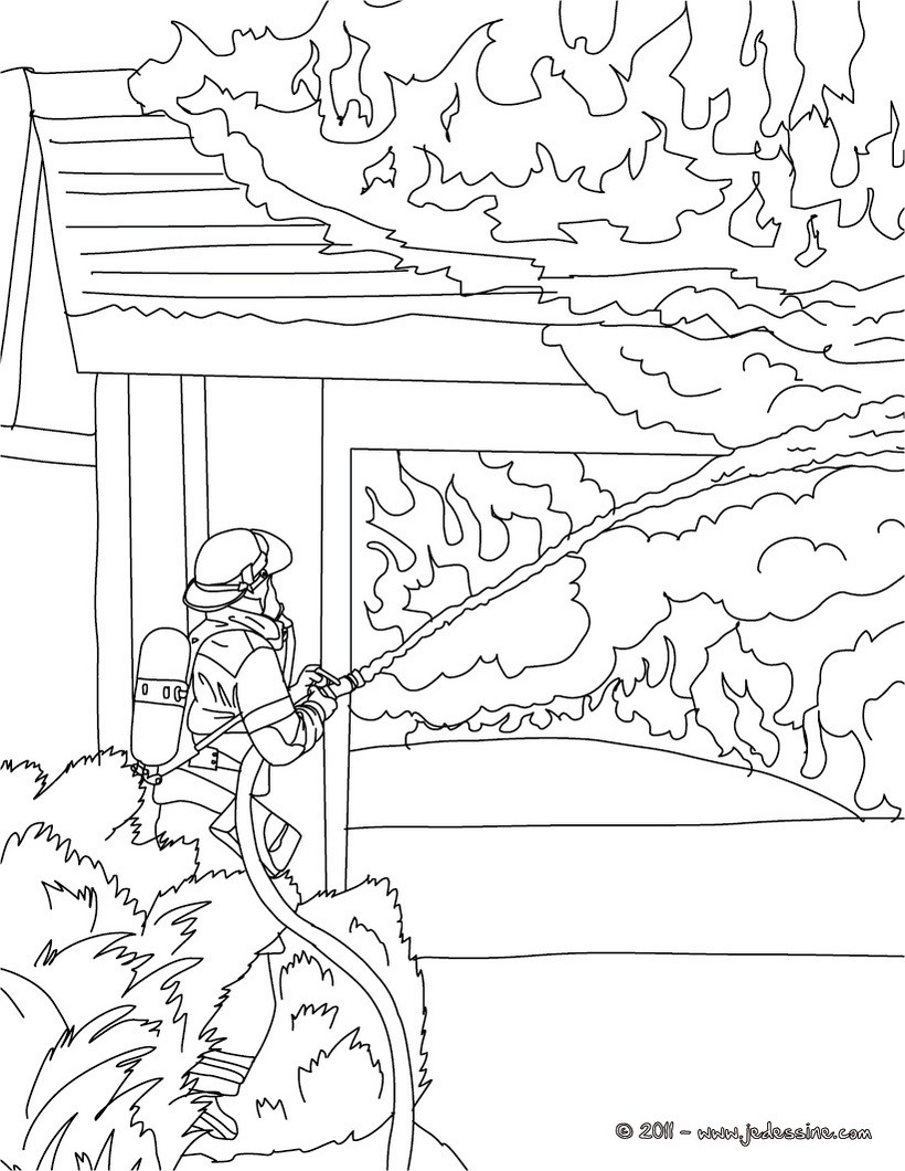 mon dessin sam le pompier
