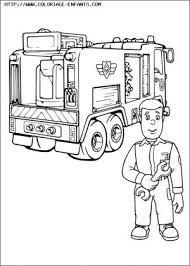 dessin à imprimer sam le pompier