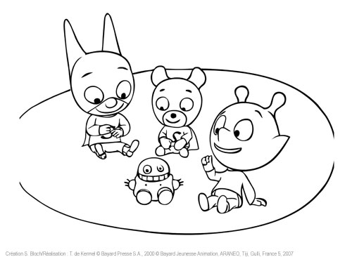 jeux coloriage à dessiner samsam