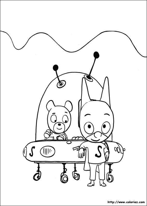 dessin samsam imprimer