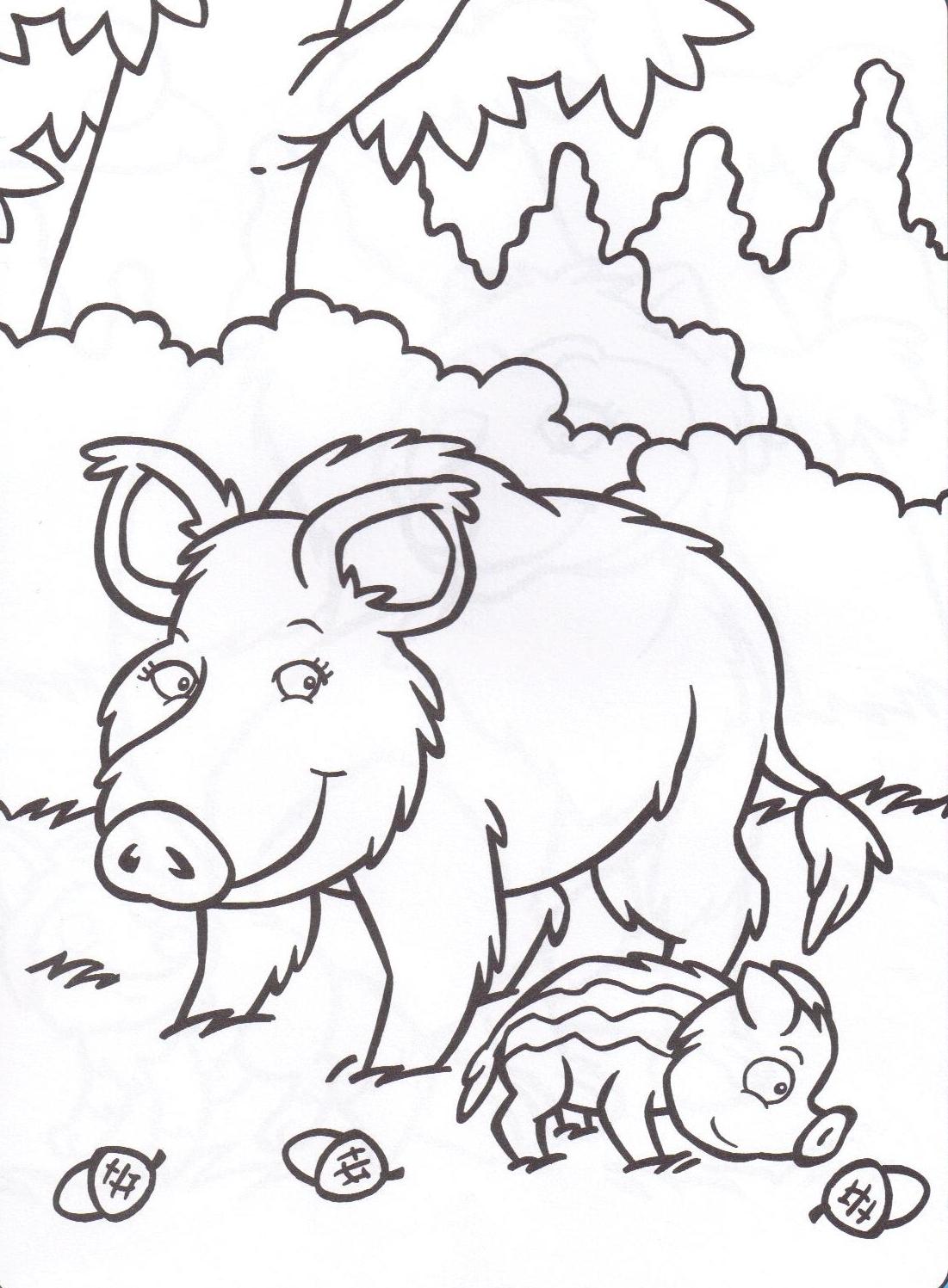 117 dessins de coloriage sanglier imprimer - Dessin dessin ...