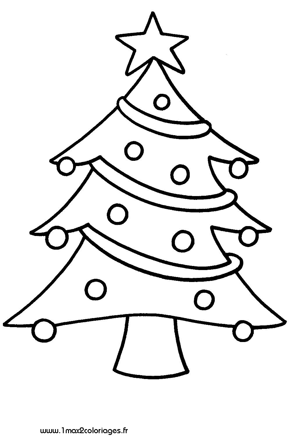 Dessin Facile Sapin De Noel
