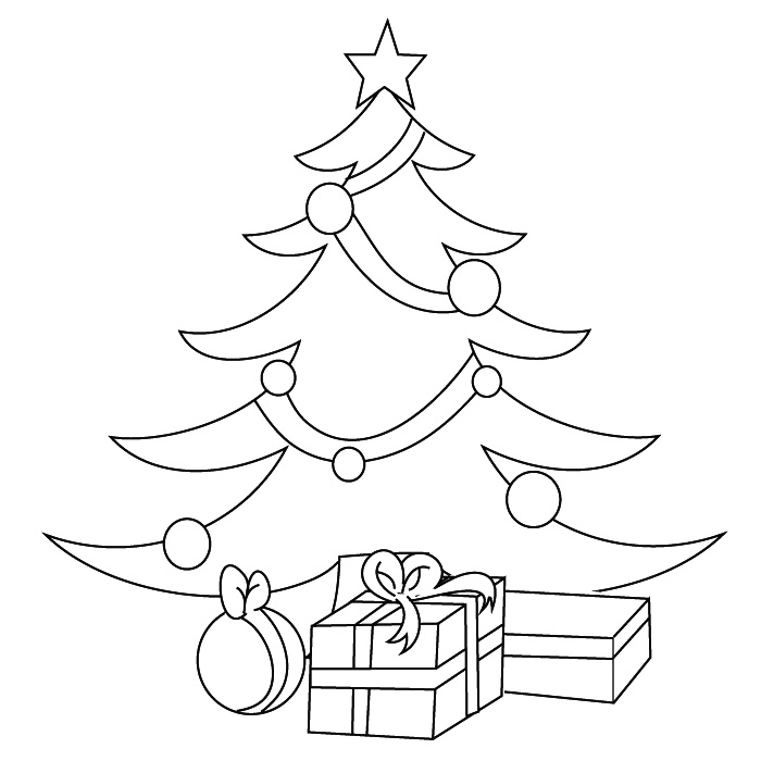 22 dessins de coloriage sapin de noel imprimer. Black Bedroom Furniture Sets. Home Design Ideas