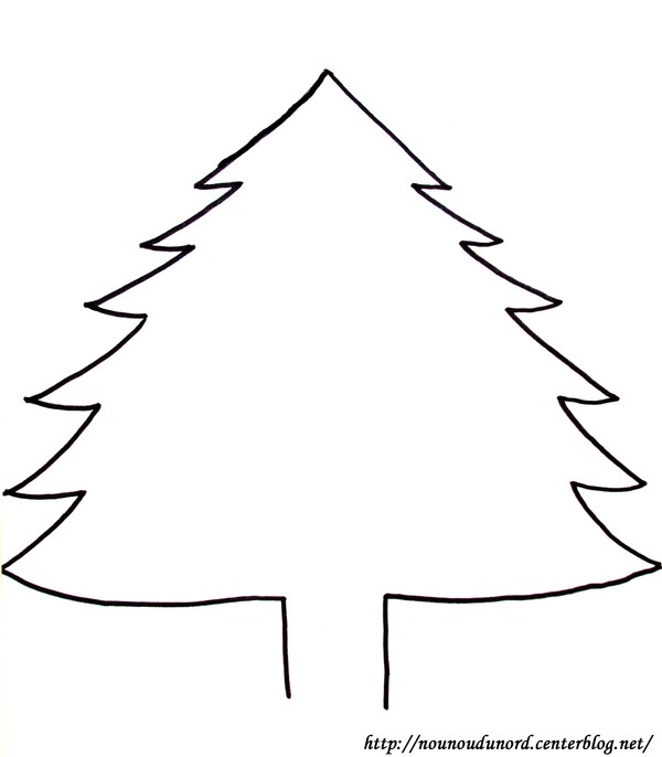 17 dessins de coloriage sapin de noel imprimer. Black Bedroom Furniture Sets. Home Design Ideas