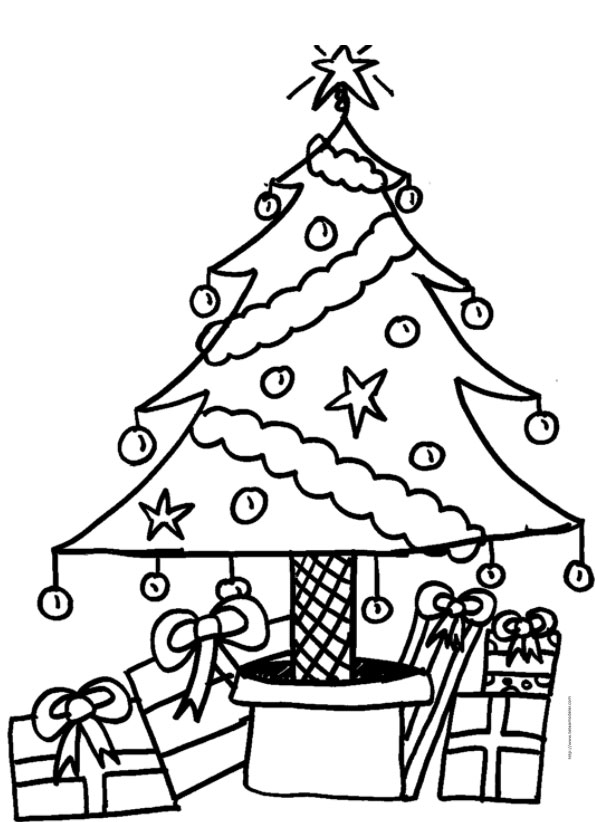 coloriage sapin a imprimer noel. Black Bedroom Furniture Sets. Home Design Ideas