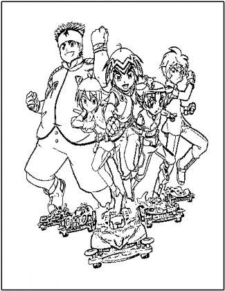 dessin à colorier scan 2 go a imprimer