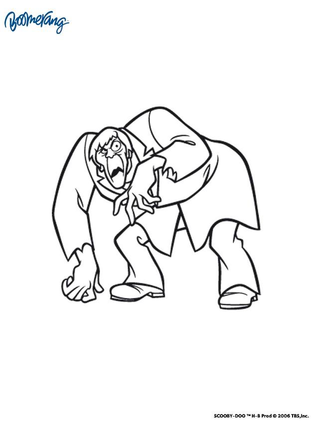Coloriage dessiner de scooby doo - Personnage scooby doo ...