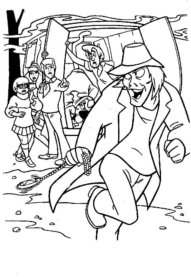 Coloriage Scooby Doo Halloween