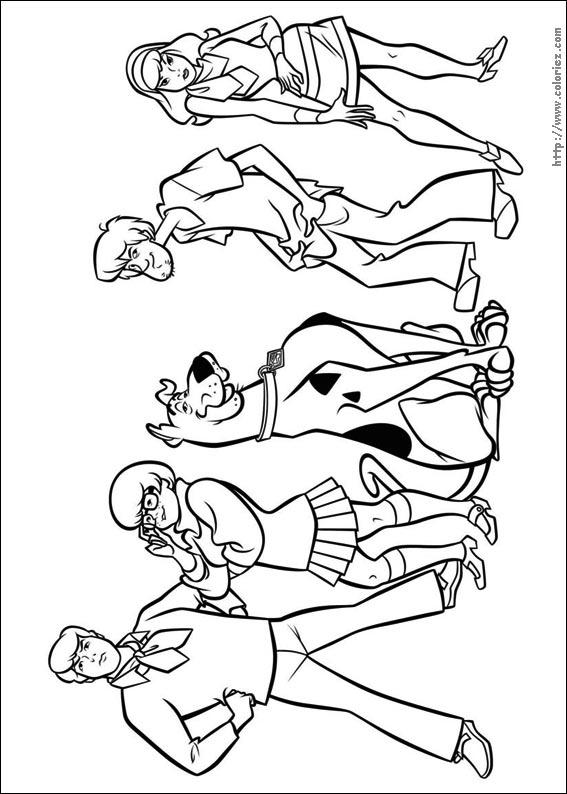 Coloriage ã Imprimer Scooby Doo